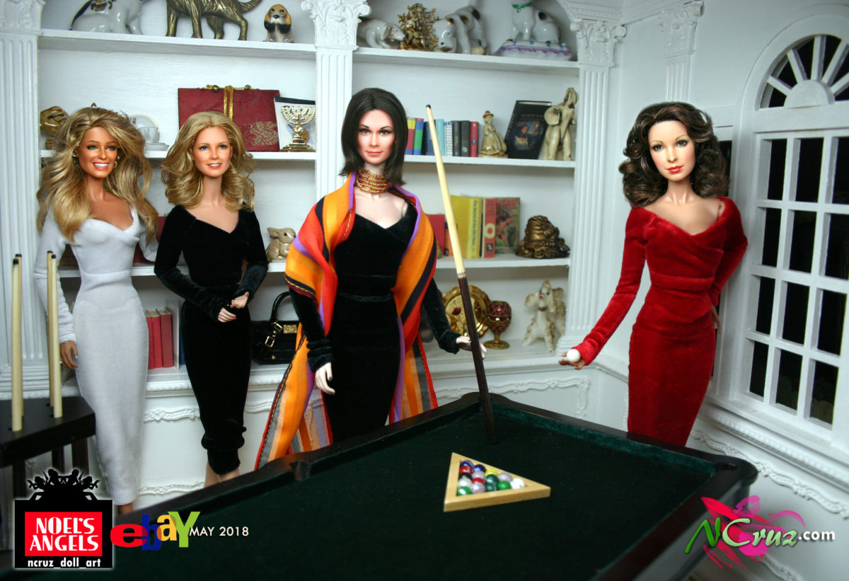 Charlie's Angels Repaints coming to eBay May 2018