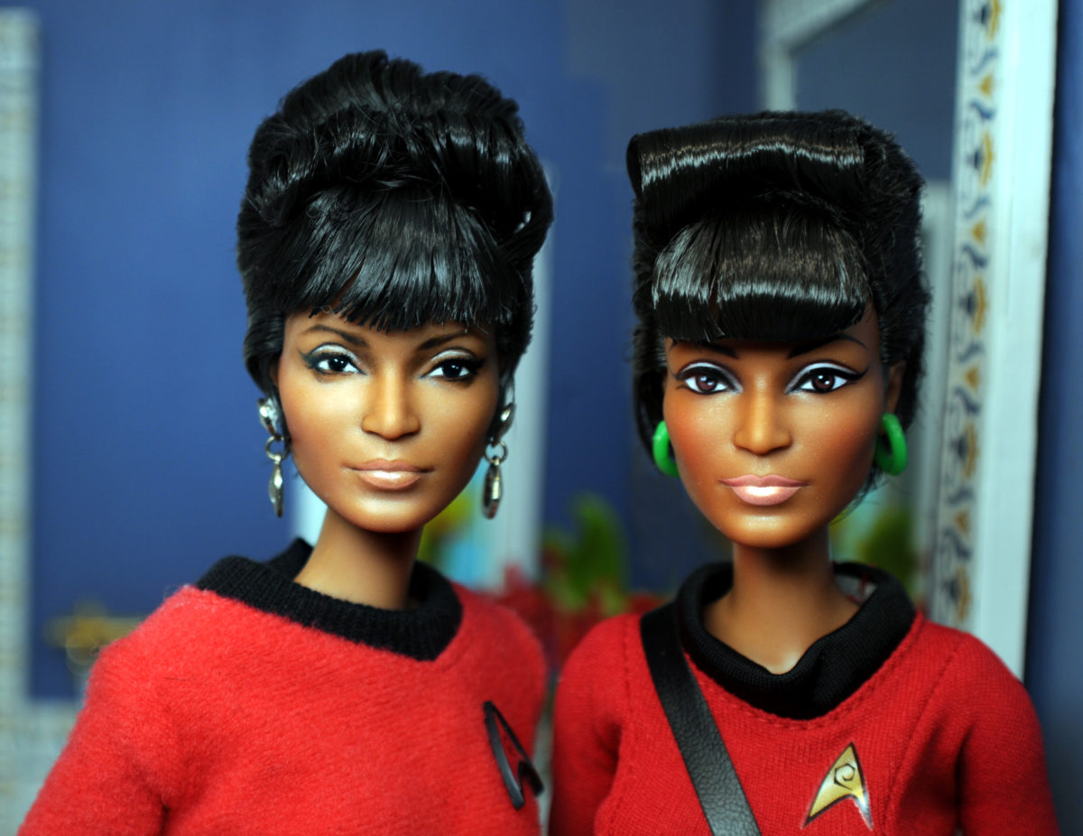 Nichelle Nichols as restyled and repainted by Noel Cruz