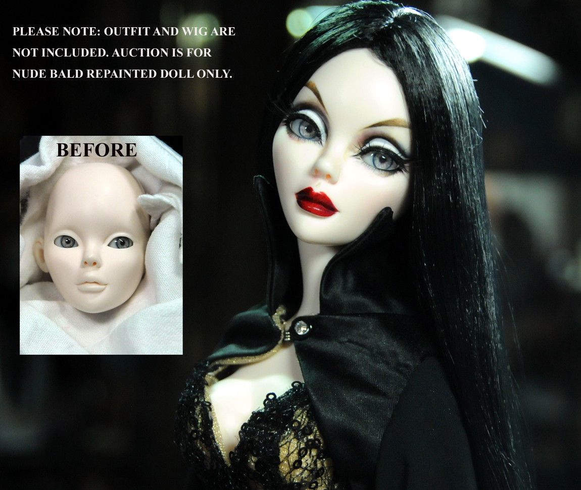 eBay auction by Noel Cruz for OOAK Evangeline Ghastly
